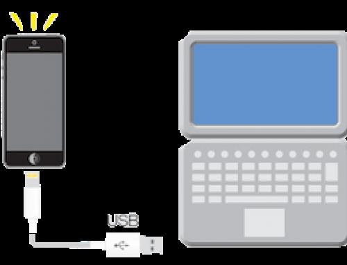 Utiliser iPhone modem en USB sur PC