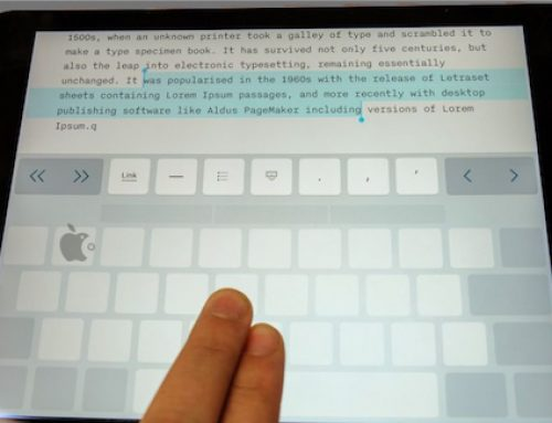 Trackpad sur IOS