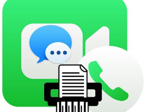 Effacer Historique des appels FaceTime & iMessages sur mac