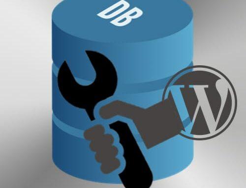 Réparer BD WordPress